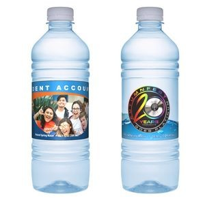 Premium 16.9 Oz. Custom Label Bottled Water